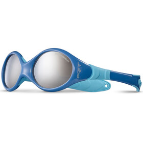 Julbo Looping I Spectron 4 Sunglasses Baby 0-18M Blue/Sky Blue-Gray Flash Silver